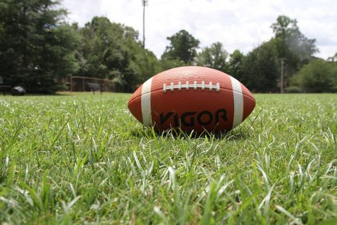 Football Ball American Football Grass Sports