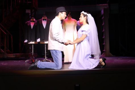 Jorge Arturo Perez (left) as Tony with Odessa Yvonne Laurie (right) as Maria
