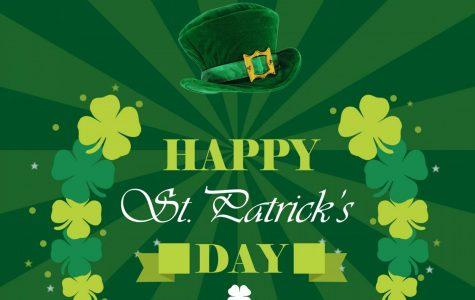 St. Patrick's Day 3D Paper Shamrocks Craft