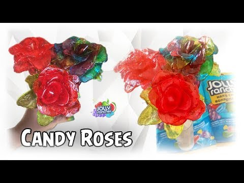 How to Make Jolly Rancher Roses!