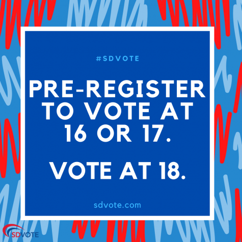Pre-Register to Vote as a High School Student
