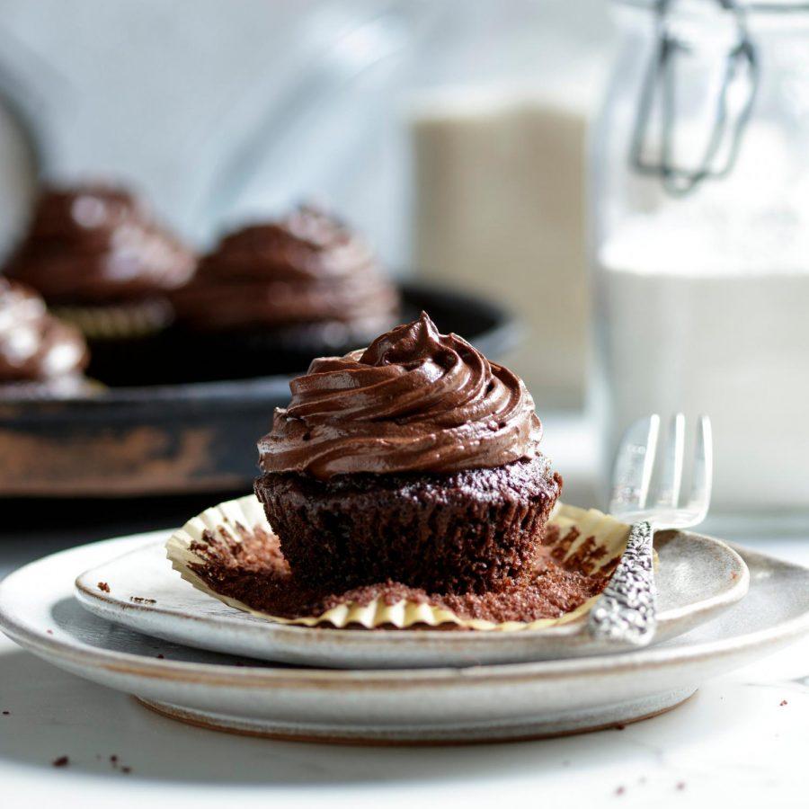 The Best Vegan Chocolate Cupcakes