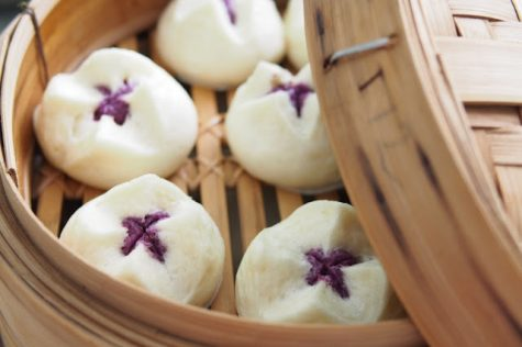 Purple Sweat Potato Steamed Buns