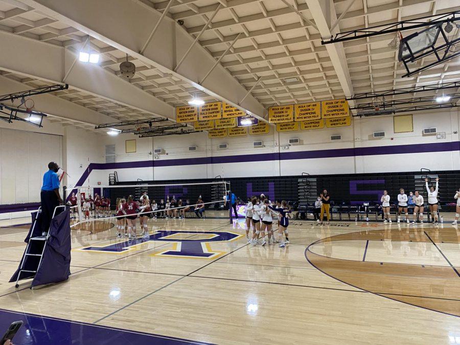Righetti Girls Volleyball: Warriors vs. Bearcats