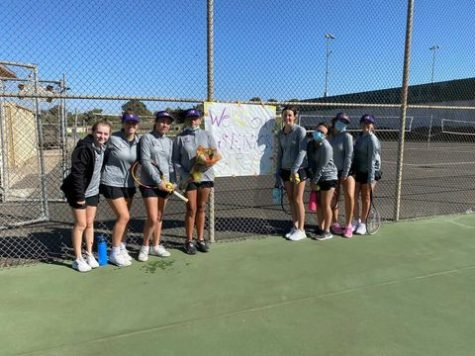Righetti Varsity Tennis